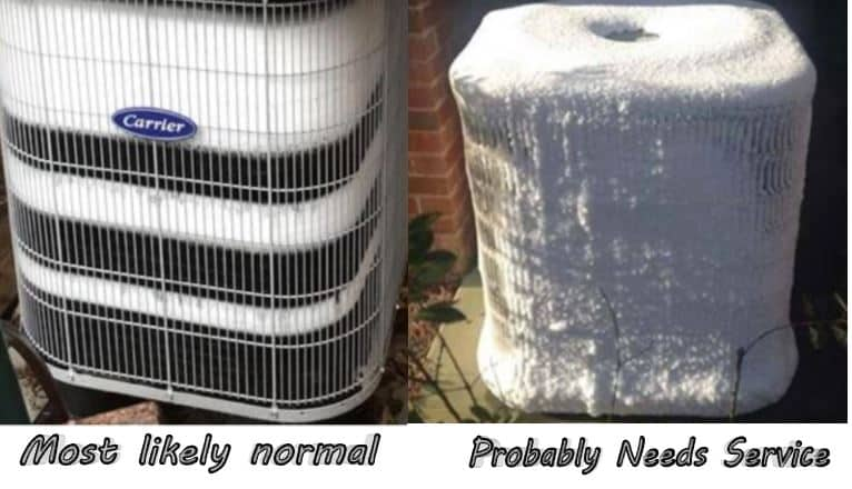 Heat Pumps Frosting Up