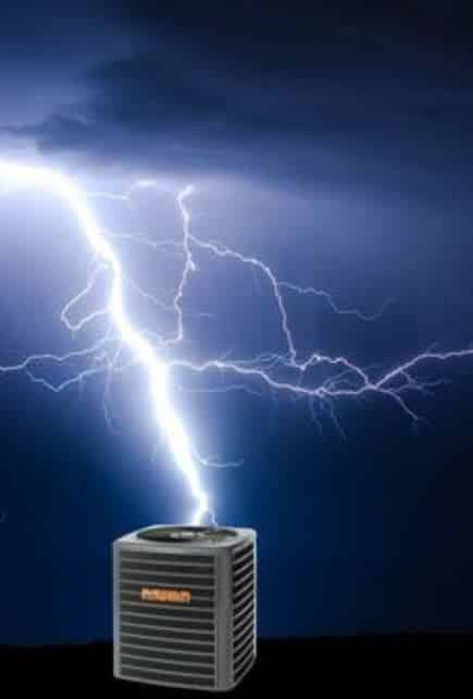 Spring Storms and HVAC